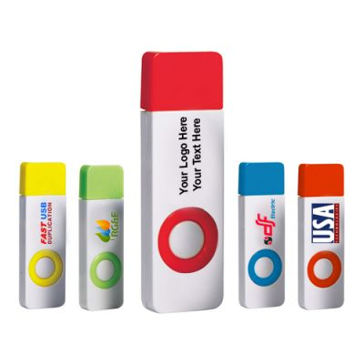 Customized 8 GB Color Pop USB 2.0 Flash Drives
