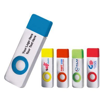 Promotional Logo 2 GB Color Pop USB 2.0 Flash Drives
