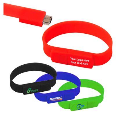 Promotional Logo Band USB 2.0 Flash Drive 1 GB