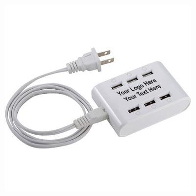 Promotional Powertech ETL Certified 6 Port USB Hubs