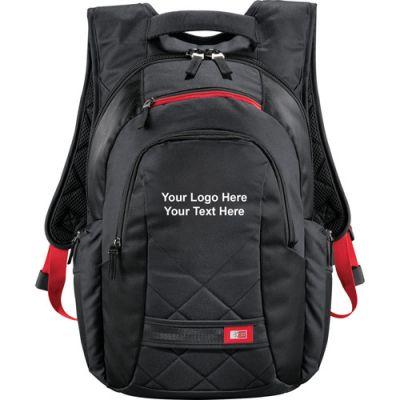Customized Case Logic Cross-Hatch Compu-Backpacks