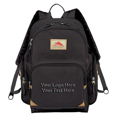 Customized High Sierra Warren Compu-Backpacks