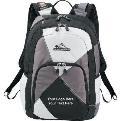 Customized High Sierra Berserk Compu-Backpacks