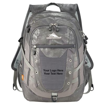 Personalized High Sierra Tactic Compu-Backpacks