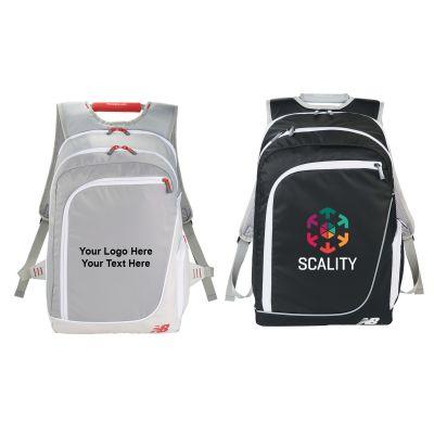 Promotional New Balance Pinnacle TSA-Friendly Compu-Backpacks