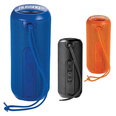 Custom Printed Rugged Fabric Waterproof Bluetooth Speakers