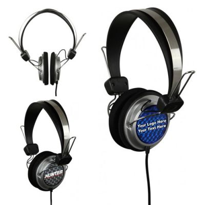 Custom Printed DJ Style Headphones