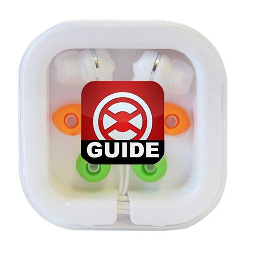 Custom Printed Earbuds in Travel Case