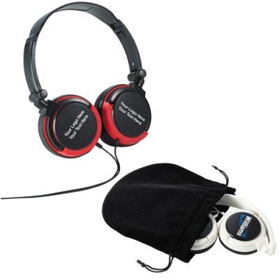 Custom Printed Hades On Ear Headphones with 2 Colors