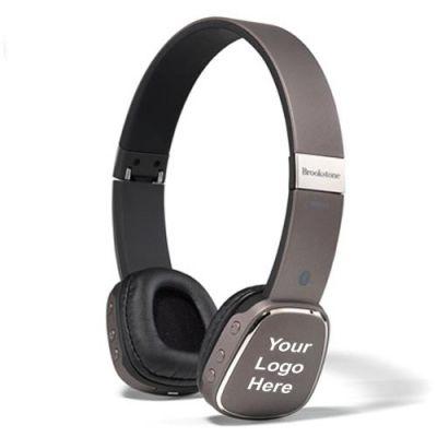 Customized Brookstone Pro Bluetooth Headphones
