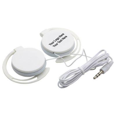Promotional Logo Easy Clip Headphones