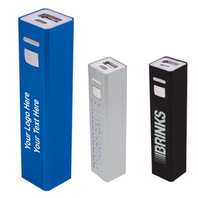Promotional Aluminum Power Banks-UL Certified-2200 mAh