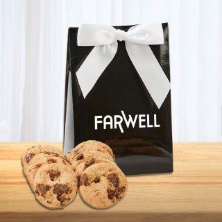 Custom Imprinted Gala Box with Chocolate Chip Cookies