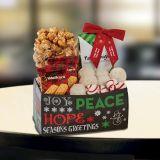 Custom Printed Holiday Snack Caddy