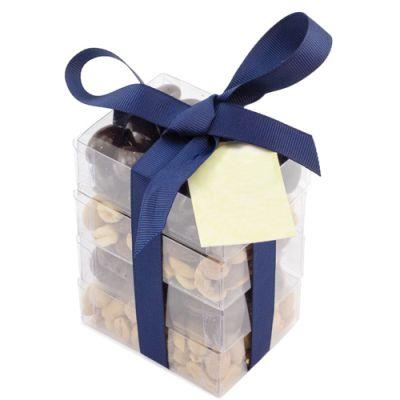 Custom Printed Super Stacker Chocolates & Nuts Gift Box
