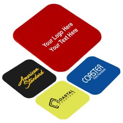 Custom Imprinted Silicone Coasters Set