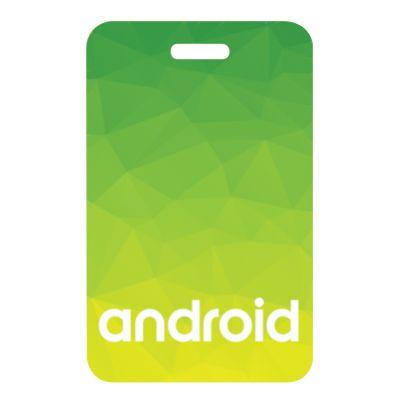 2.25x3.5 Inch Custom Imprinted Plastic Identification Badges