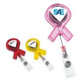 Custom Imprinted Ribbon Badge Holders