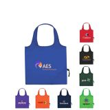 16 x 14.5 Inch Custom Printed Foldaway Tote Bags