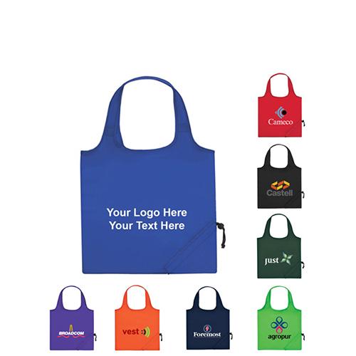Custom Printed Foldaway Tote Bags