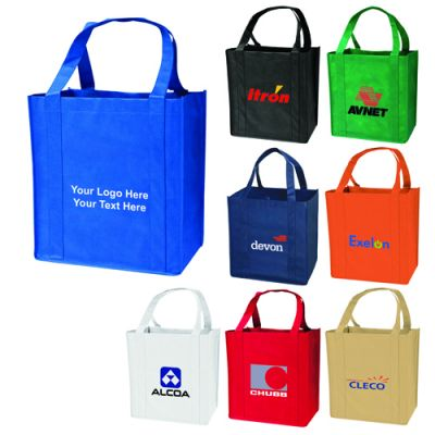 Custom Imprinted Medium Grocery Tote Bags
