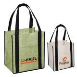 Custom Jute-Non Woven Shopping Tote Bags