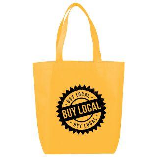 Custom Logo Imprinted Eros Tote Bags