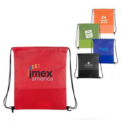 Custom Orlando Non-Woven Cinch Bags