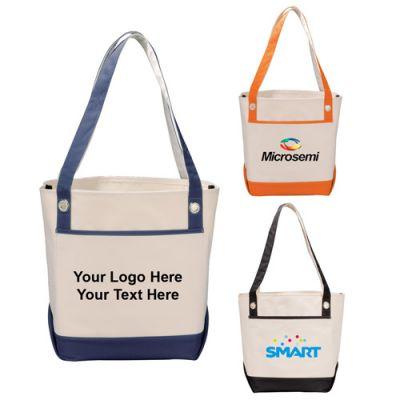 Logo Imprinted Harbor Boat Tote Bags
