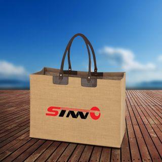 Personalized Jumbo Jute Tote Bags