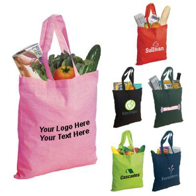 Promotional Logo Econo Cotton Tote Bags
