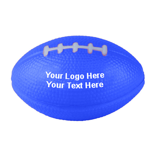 3.5 Inch Custom Football Shaped Polyurethane Stress Balls