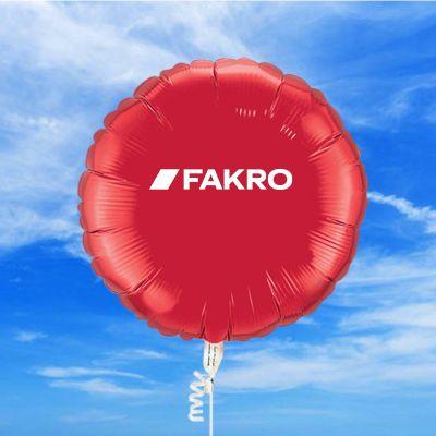 18 Inch Custom Imprinted Round Mylar Balloons