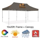 10'x20' Full Imprinted Standard Custom Event Tent...