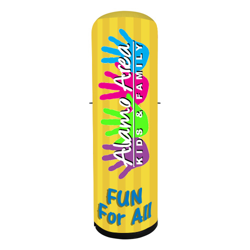 8 Ft Promotional Logo Cyclone Inflatable Tower Kit