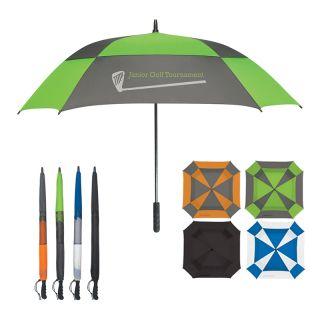 60 Inch Arc Custom Printed Logo Umbrellas