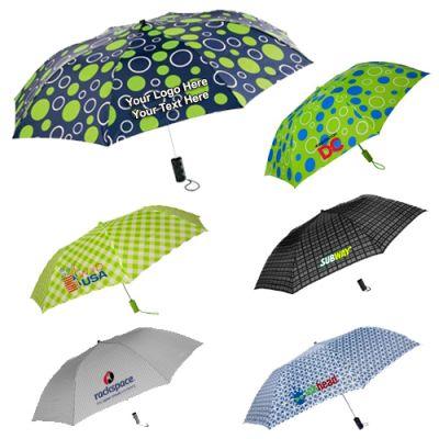 44 Inch Custom Imprinted Auto Open Umbrellas