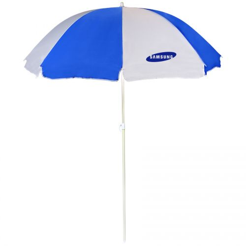 Custom 72 inch Arc Beach Umbrellas with 5 Colors