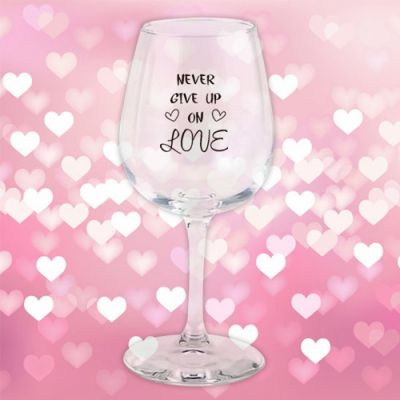 Custom Imprinted 12.75 Oz Valentine Wine Tasters