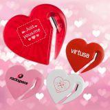 Logo Imprinted Heart Shape Letter Slitters