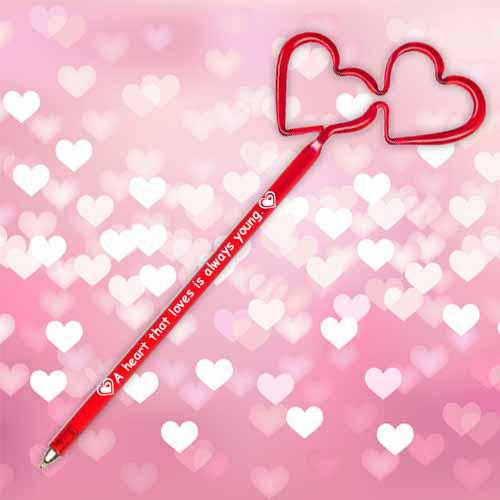 Inkbend Standard Heart Double Ball Point Pens