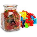 Custom Gummy Bears in Large Glass Jar