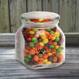 Promotional Skittles in Medium Glass Jar