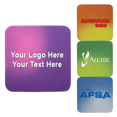 Custom Imprinted Square Shaped Mood Die Cut Erasers