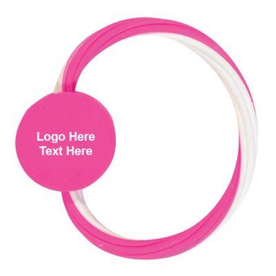 Logo Imprinted Eraser Bracelets