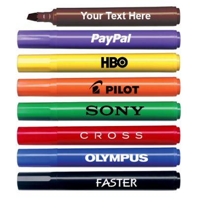 Custom Chisel Tip Broadline Permanent Markers