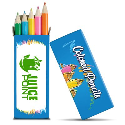Custom 5 Pack Colored Pencil Sets