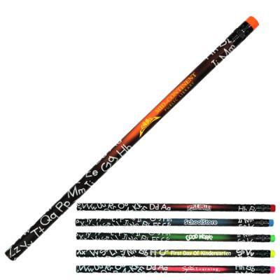 Custom Printed Mood ABC Pencils