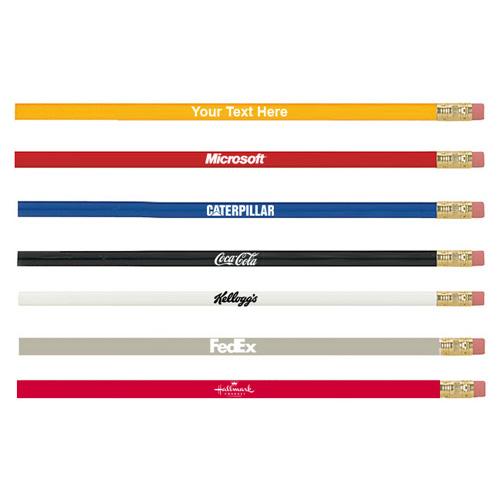 custom printed budgeteer pencil
