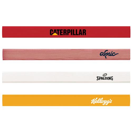 custom printed carpenter pencil
